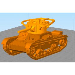T-26 Light infantry tank (multiple versions)