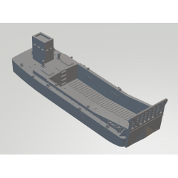 landing craft mechanized (LCM) (3) 27cm long with a removal ramp!